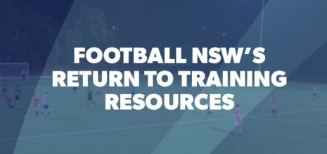 Football NSW Return to PLAY and Training Guidelines